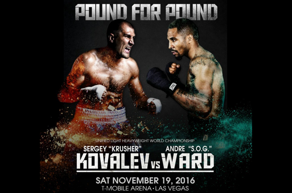 kovalev vs. ward pound 4 pound week - Potshot Boxing