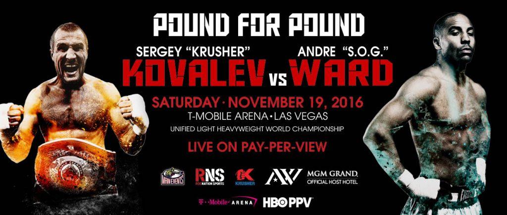 sergey kovalev vs. andre ward prediction - Potshot Boxing