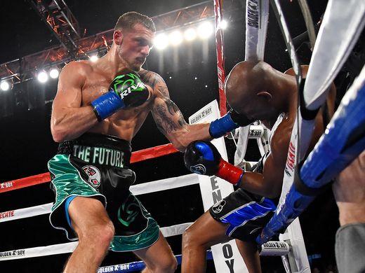 joe smith, jr. knocks out bernard hopkins - Potshot Boxing