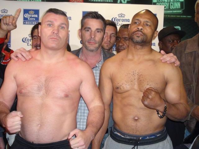 roy jones, jr. vs. bobby gunn - Potshot Boxing