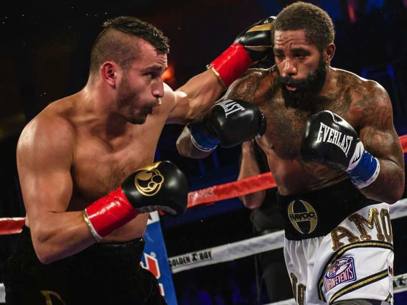david lemieux knocks curtis stevens out cold - Potshot Boxing