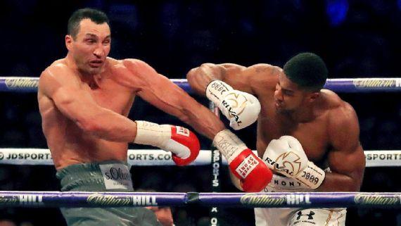 anthony joshua defeats wladimir klitschko - Potshot Boxing