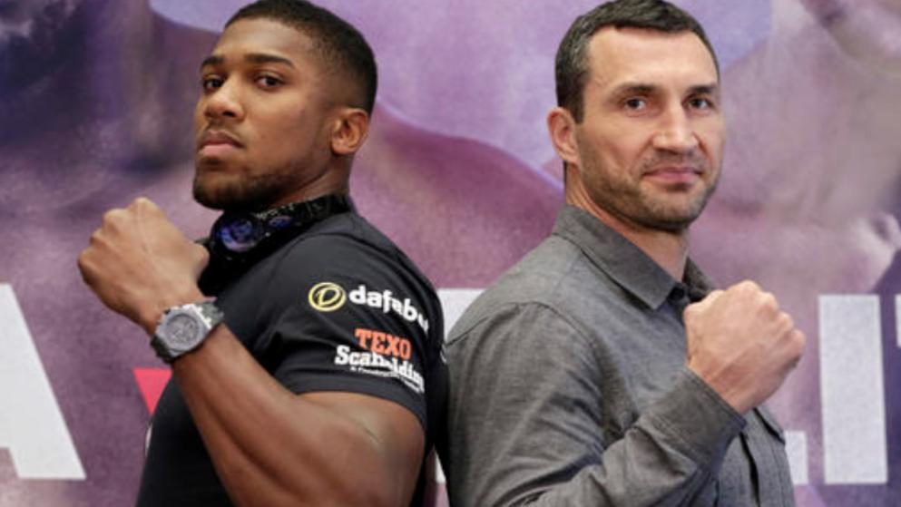 Anthony Joshua vs. Wladimir Klitschko prediction - Potshot Boxing