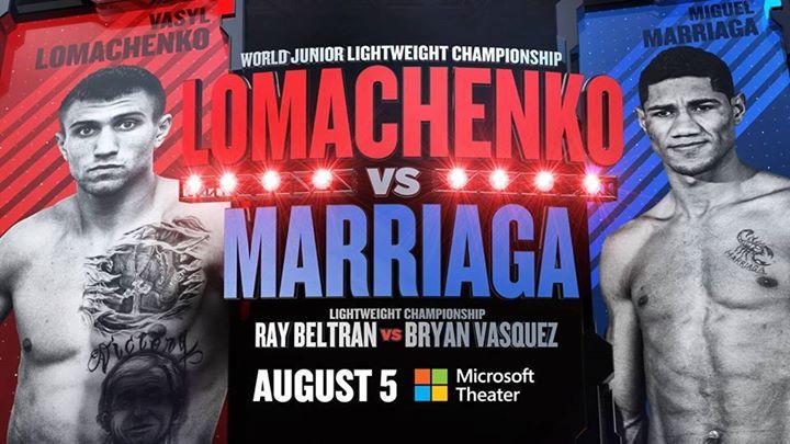 vasyl lomachenko vs. miguel marriaga prediction - Potshot Boxing