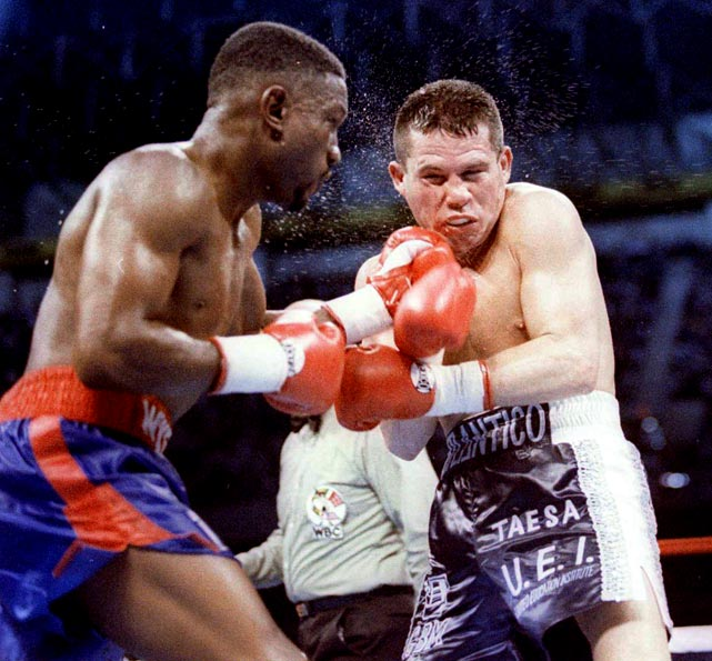 psb fight of the week - Pernell Whitaker vs. Julio Cesar Chavez - Potshot Boxing