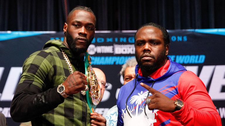 deontay wilder vs. bermane stiverne 2 boxing poll - Potshot Boxing