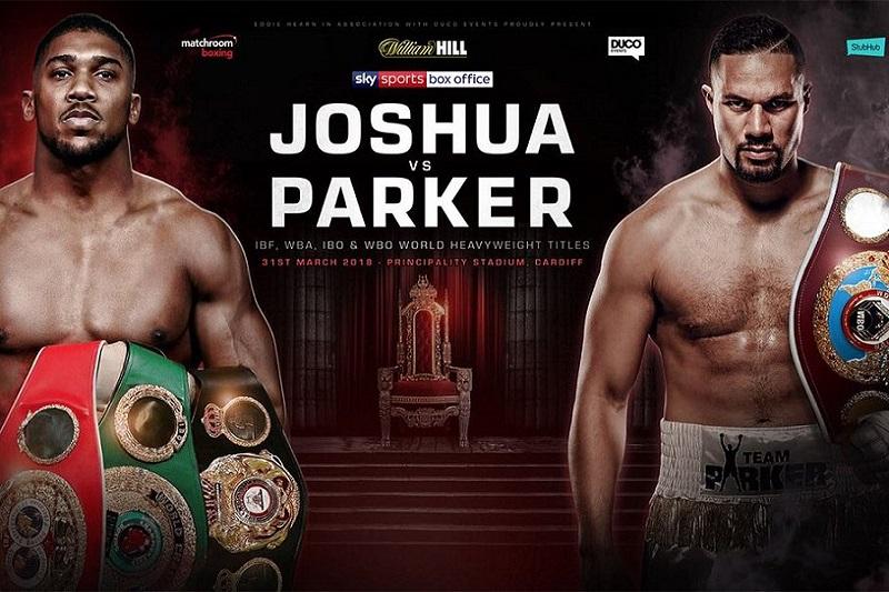 anthony joshua vs. joseph parker - Potshot Boxing