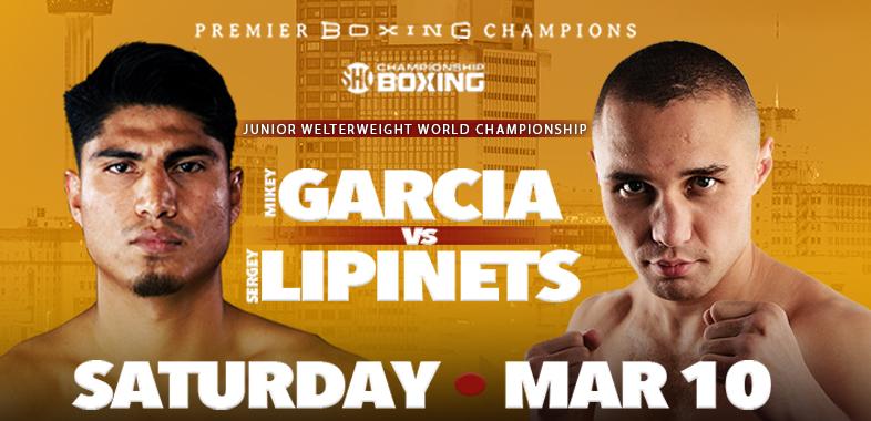 mikey garcia vs. sergey lipinets TOTT - Potshot Boxing