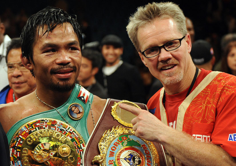 manny pacquiao cuts ties with freddie roach - Potshot Boxing